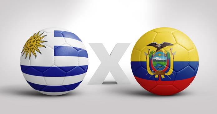 soi keo Uruguay vs Ecuador