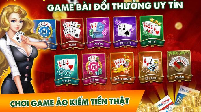 top game bai duoc yeu thich nhat