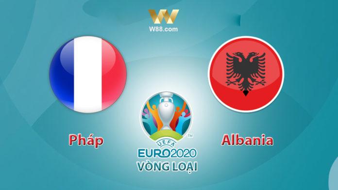 soi keo Phap vs Albania